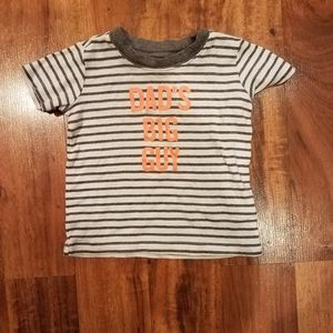 Boys Carter's striped graphic tee size 18 months